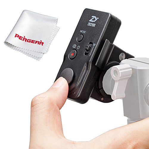 Zhiyun ZW-B02 Wireless Thumb Controller for Zhiyun Crane Crane-M Smooth-II Smooth 3 Smooth-Q Rider-M Gimbal Stabilizer - With PERGEAR Cleaning Cloth