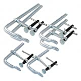 Bessey Bar Clamp Set, F-Style Sliding Arm