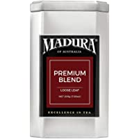 Madura Premium Blend Loose Leaf Tea in Tea Caddy, 1 x 200 g