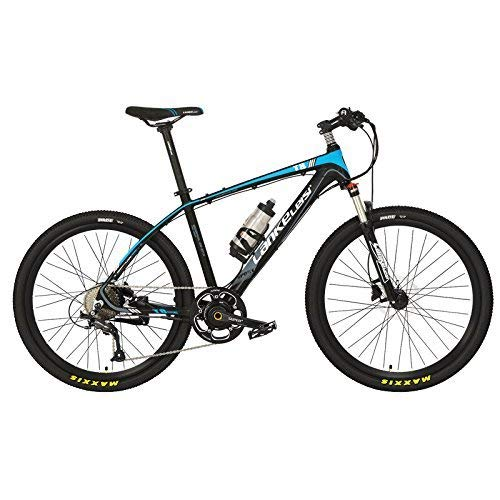 ZDDOZXC T8 26 Inches Cool E Bike, 5 Grade Torque Sensor System, 9 Speeds, Oil Disc Brakes, Suspension Fork, Pedal Assist Electric Bike
