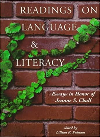 com readings on language and literacy essays in honor of  readings on language and literacy essays in honor of jeanne chall