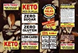 xylitol chocolate syrup - KETO FAT BOMB DARK CHOCOLATE THINS with Almonds - LOW CARB! GLUTEN FREE! RAW VEGAN! PALEO! NO SUGARS ADDED! Travel Snack! KETOGENIC! SAMPLER PAK (3 boxes / 15 thin keto dark chocolate bars)
