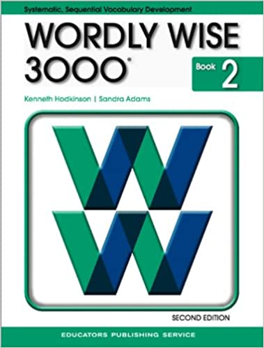 First Grade Math first grade math free worksheets : Wordly Wise 3000 Book 2, 2nd Edition: Kenneth Hodkinson, Sandra ...