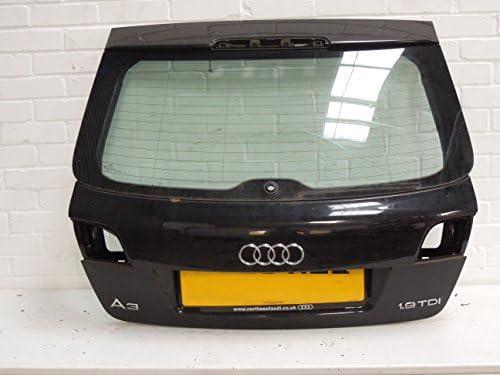 Audi A3 8P Sportback de 5 puertas FL portón trasero negro: Amazon.es ...