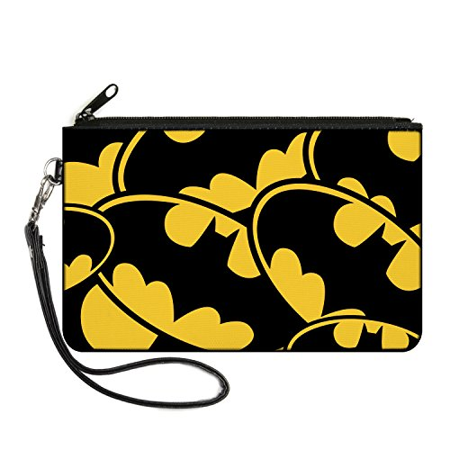 Buckle-Down Junior's Zip Wallet Batman Small, Multicolor, 6.5