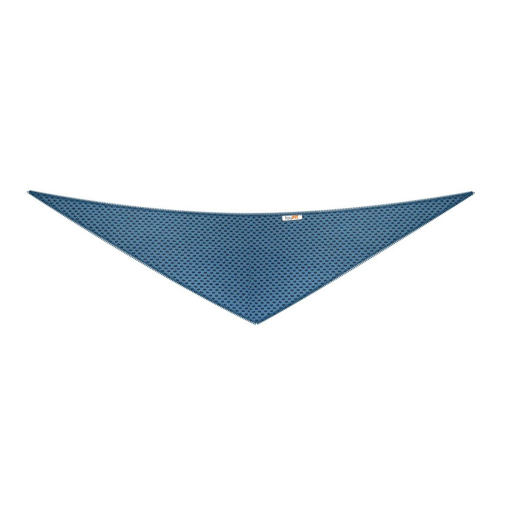 FOUFIT Cooling Bandana, Small, Blue