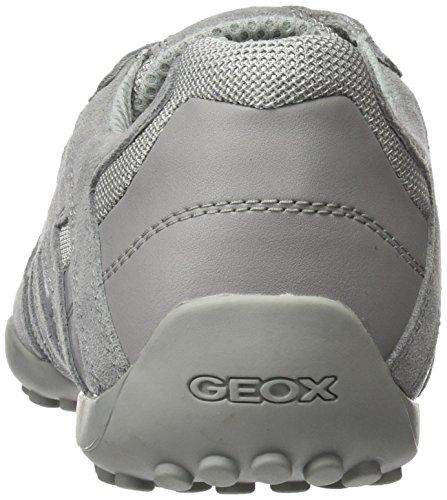 Para Hombre Geox E lt Grey Uomo Zapatillas Snake Gris gWWqnxI1S4
