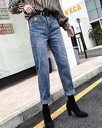 Kxdnzk Zkkxdn Pantalones De Verano De Talla Grande Boyfriend Jeans Para Mujeres Pantalones Lapiz Mujer Jeans De Cintura Alta Pantalones De Mujer Sueltos Jeans De Mujer Mama Amazon Es Deportes Y Aire Libre