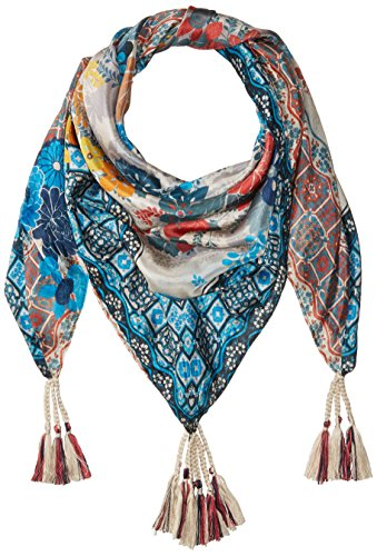 Johnny-Was-Womens-Patterned-Silk-Square-Scarf-with-Tassels