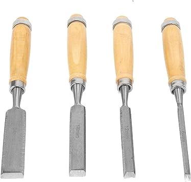 Juego de Cinceles de Madera para Principiantes Cincel de Corte Cincel de Detalle Herramientas de Talla de Madera Cincel de Gancho