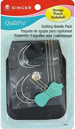 Singer QuiltPro Quilting Needle Pack W/Storage Pouch