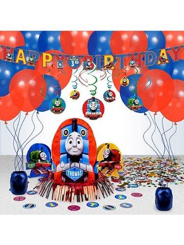Costume Supercenter BB101453 Thomas Party Decoration Kit (Thomas The Tank Engine Costume)