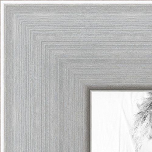 ch Chrome Stainless Steel Picture Frame, 2WOMFRBW26966-19x24 (Four Steel Frame)