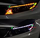 Sell by Automotiveapple, exLED LED Eyeline Head eyebrow 2way Power Modules LH RH 2-pc Set For 2014 2015 Kia Optima : The New K5