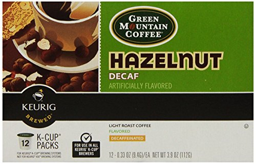 GMT7792CT - Green Mountain Coffee Roasters Hazelnut Decaf Coffee K-Cups
