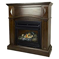 Pleasant Hearth 36 Compact Cherry Natura...