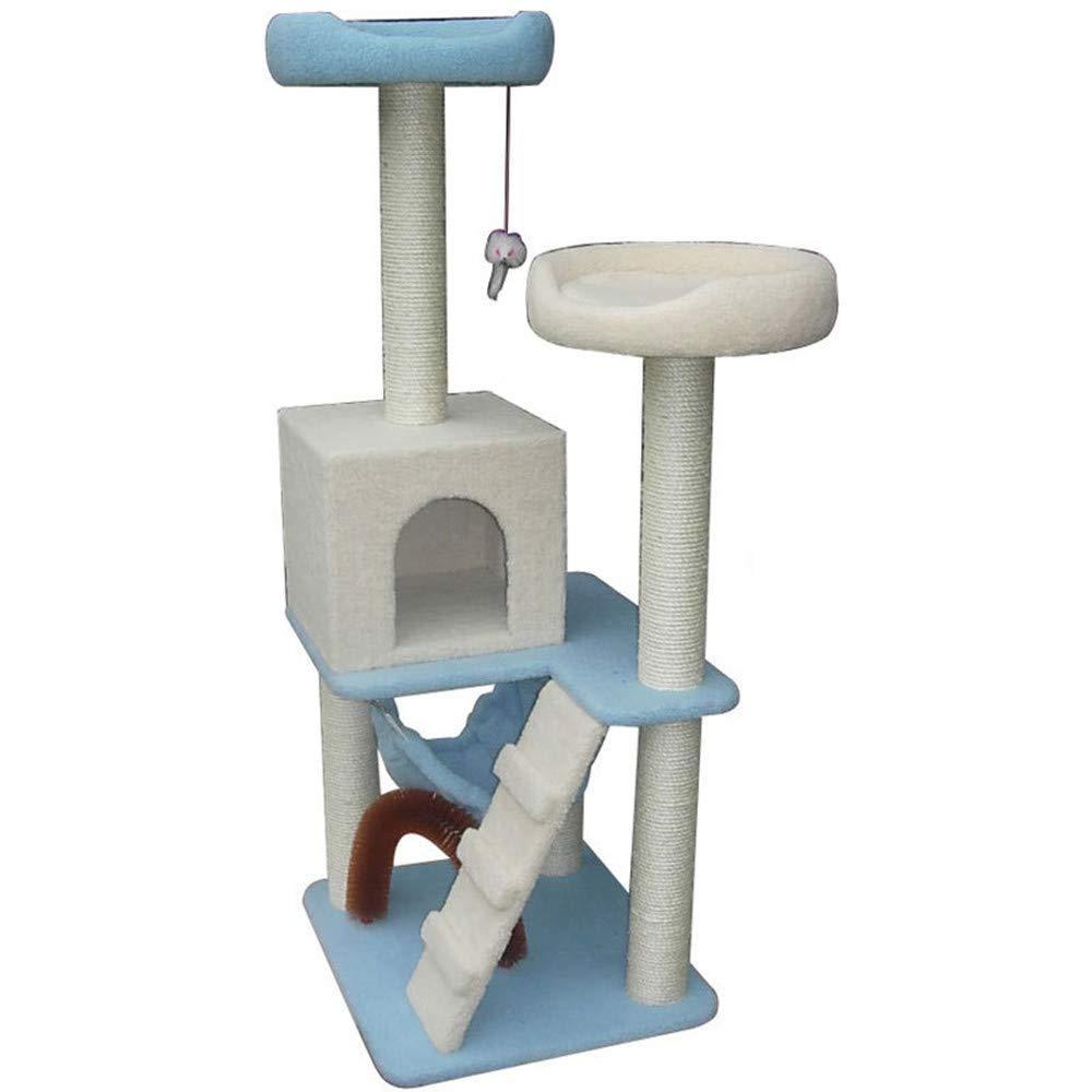 Cat Climbing Frame Cat Litter Cat Tree Big Sisal Column Cat Jumping Platform Using High Quality Particle Board Weight Uniform Pollution-Resistant Aging