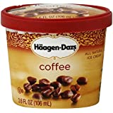 Haagen Dazs, Coffee Ice Cream, 3.6 Oz. Cup (12 Count)