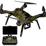 MightySkins Protective Vinyl Skin Decal for 3DR Solo Drone Quadcopter wrap cover sticker skins Green Camouflage