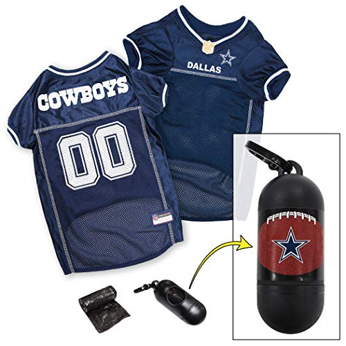 NFL DALLAS COWBOYS DOG Jersey, Large