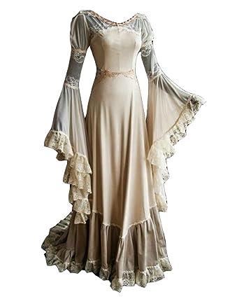 LaoZanA Disfraz De Medieval para Mujer Vestido Renacentista ...