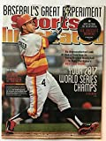 George Springer Houston Astros SI Sports Illustrated magazine world series prediction 2014 reprint