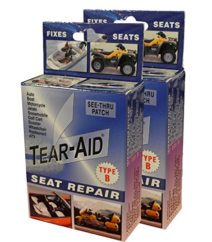 Tear-Aid Vinyl Seat Repair Kit, Blue Box Type B (2 ()