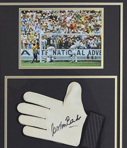 sign-ddicac-pele-chemise-gordon-banks-gant-monde-tasse-affichage-autographed-soccer-equipment