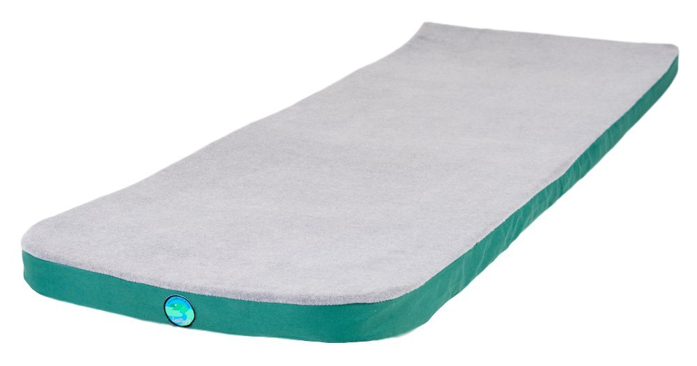 LaidBack Pad Memory Foam Sleeping Pad - The Premium Memory Foam Mattress Camping Pad Experience For Great Sleep While Camping Or At Home by LaidBackPad