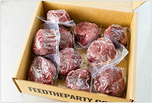 10 (6 oz.) Filet Mignon Steaks by Feed The Party (Image #2)