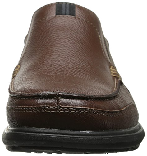 Nunn Bush Heren Carter Slip-on Loafer Kastanje