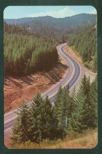 - HIGHWAY 10 and 4th OF JULY CANYON Kellogg Coeur D'Alene Idaho ID Postcard
