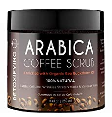 O Naturals Coffee Arabica Dead Sea Salt Body Scrub has been designed with your face, hands, and body in mind. Created with the most luxurious and natural ingredients, we can guarantee you have never tried anything like it before. The all natu...