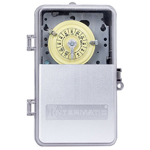 Intermatic T104PCD82 DPST Electromechanical 24-Hour Timer