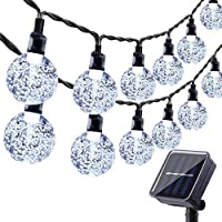 60 LED Globe Solar String Lights Outdoor