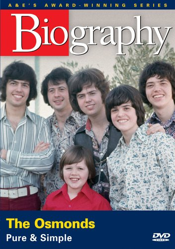 Biography - The Osmonds: Pure and Simple (Osmond Marie And Dvd Donny)