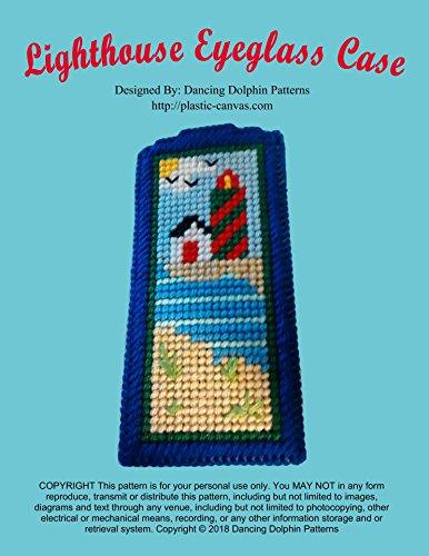 Lighthouse Eyeglass Case: Plastic Canvas ()