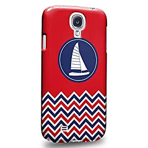 Case88 Premium Designs Art Nautical Boat Carcasa/Funda dura para el Samsung Galaxy S4