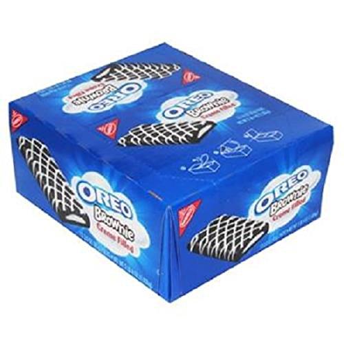 Product Of Nabisco, Oreo Brownies Creme Filled, Count 12 (3 oz) - Cookie & Cracker / Grab Varieties & Flavors