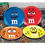 M&Ms Candy Characters Plates Set