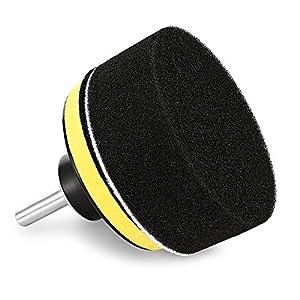 Sponge wheel wool ball car beauty polishing disc waxing disc set flat wave polishing wheel 4 inch 8