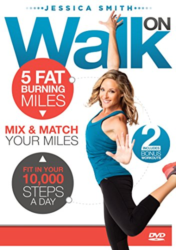Walk On 10,000 Steps Weight Loss 5 Fat Burning Miles Indoor Walking Exercise DVD (Best Watches Under 10000 2019)