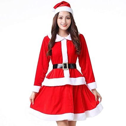 Olydmsky Trajes de Navidad Adulto,Traje de la Navidad cos ...