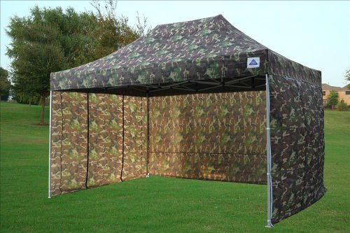 10 x15 pop up 4 wall canopy party tent gazebo set ez for Cheap wall tents for sale