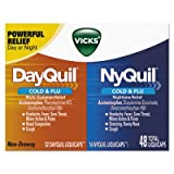 Dayquil/nyquil Cold & Flu Liquicaps Combo Pack, 32 Day/16 Night, 12/carton