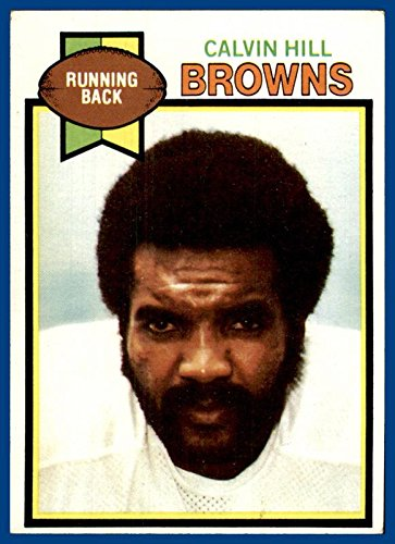 1979 Topps #399 Calvin Hill CLEVELAND BROWNS Yale -