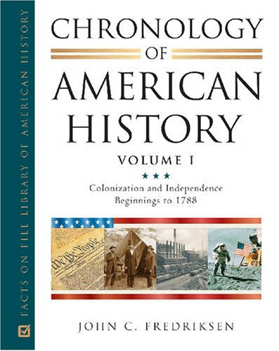Chronology of American History (Facts on File Library of American History)