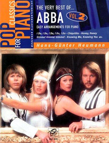 The very best of ABBA Volume 2. Easy Arrangements for Piano.: Easy Arrangements for Piano