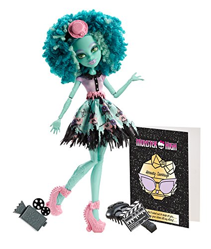 Monster High Frights, Camera, Action! Honey Swamp Doll -