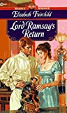 Lord Ramsay's Return, Elisabeth Fairchild, 0451182820